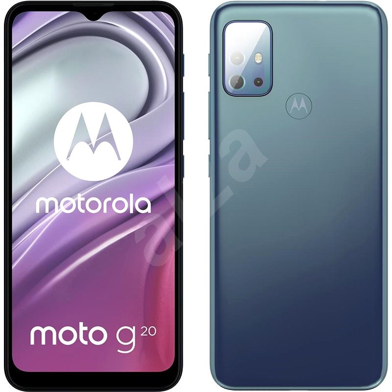 Motorola Moto G20 NFC modrá - Mobilní telefon