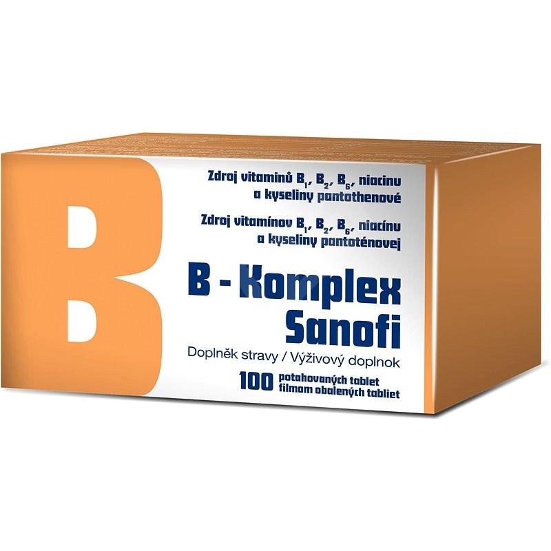 B-Komplex Sanofi 100 ks - B komplex