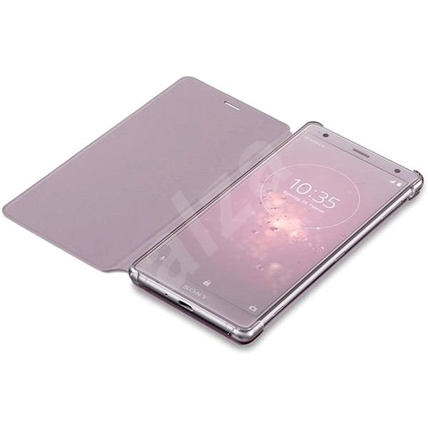 Sony SCSH50 Style Cover Stand pro Xperia XZ2 Compact Violet/Pink - Pouzdro na mobil