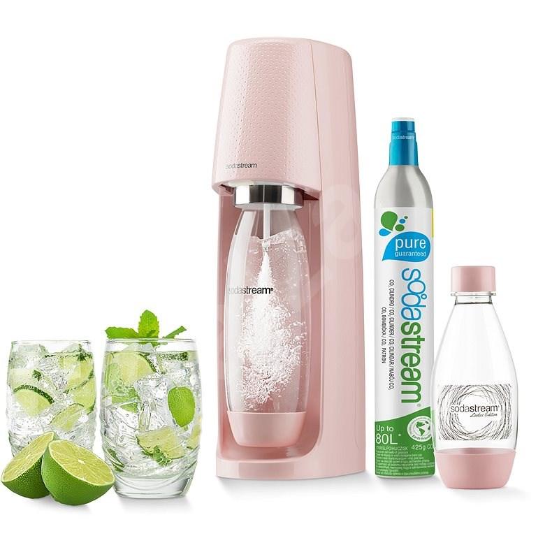 SodaStream Spirit StdRůžov - Výrobník sody