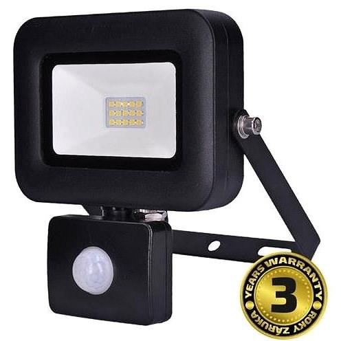 Solight LED reflektor s čidlem 10 W WM-10WS-L - LED reflektor