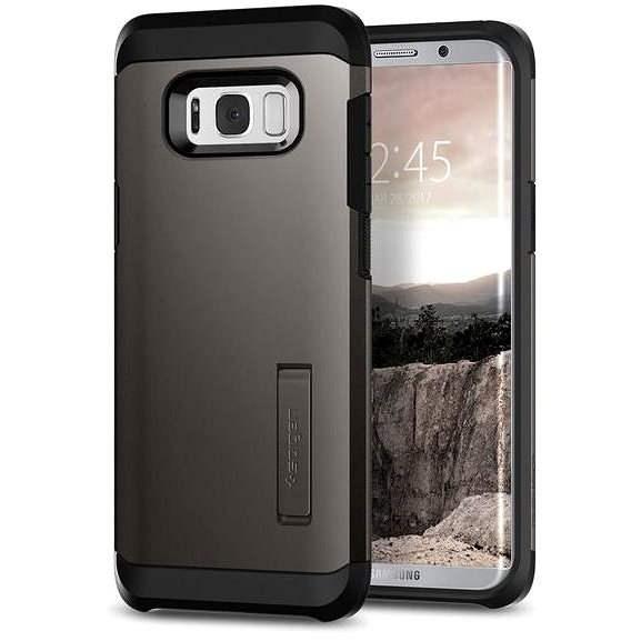 Spigen Tough Armor Gunmetal Samsung Galaxy S8+ - Ochranný kryt