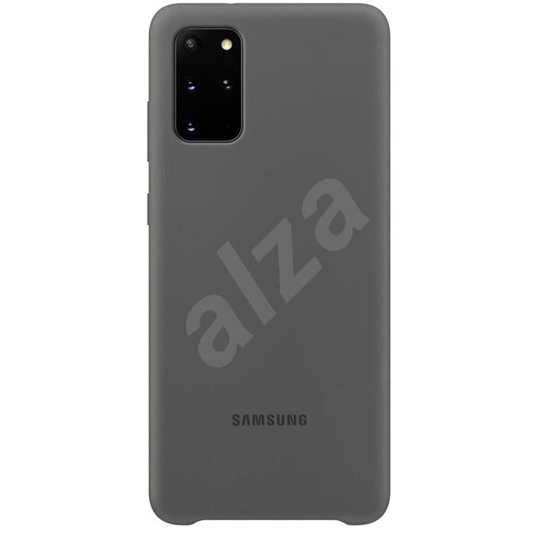 Samsung  Silikonový zadní kryt pro Galaxy S20+ šedý - Kryt na mobil