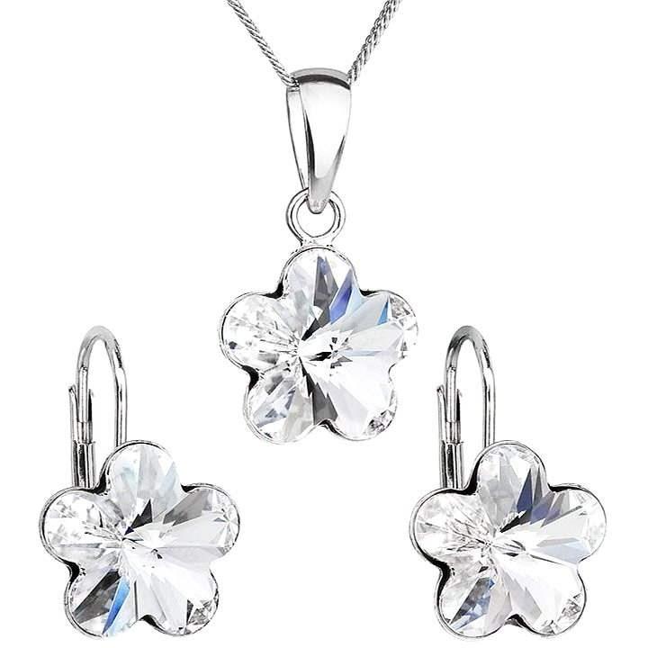 SWAROVSKI ELEMENTS Krystal Set Decorated Crystals Swarovski 39143.1 (925/1000; 2.5g) - Jewellery Gift Set