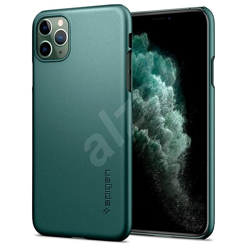 Spigen Thin Fit Green iPhone 11 Pro - Kryt na mobil