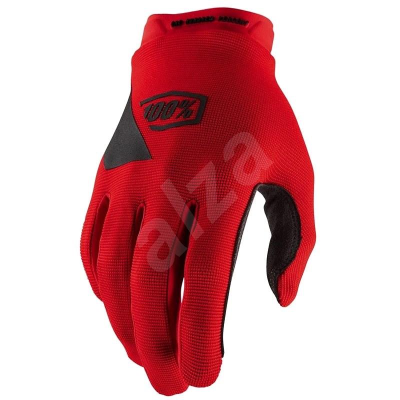 RIDECAMP USA červená , vel. XL - Cyklistické rukavice