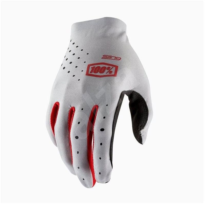 SLING USA šedá , vel. XL - Cyklistické rukavice