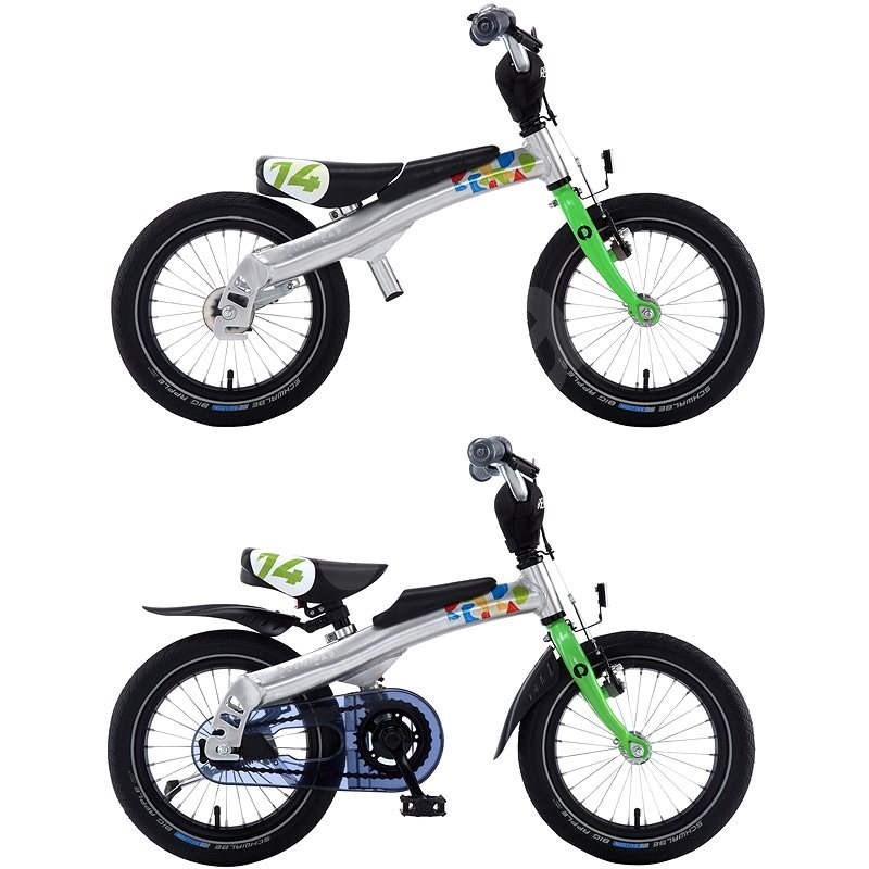 Rennrad 14 green - Dětské kolo