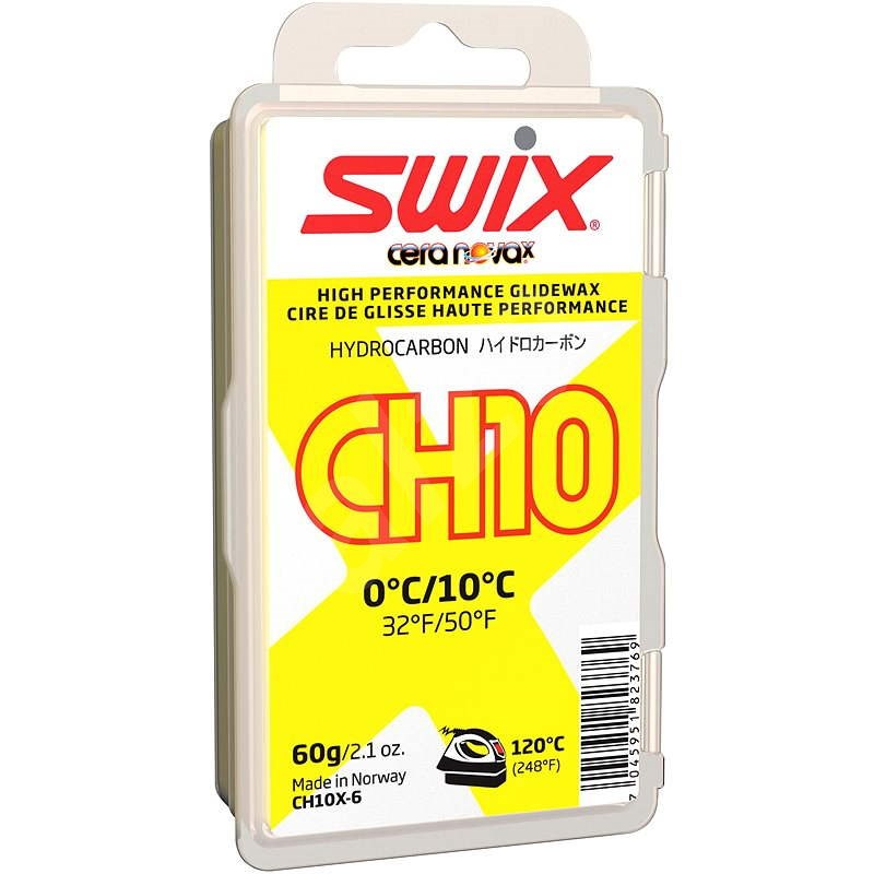 Swix CH10X žlutý 60g - Vosk