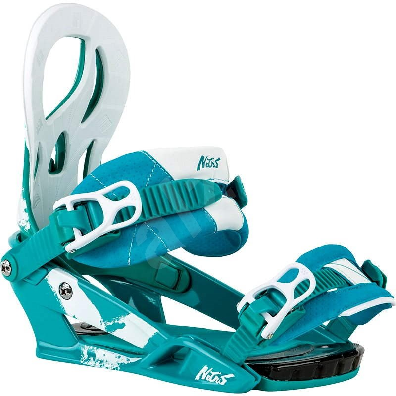 Nitro Lynx teal M - Vázání na snowboard