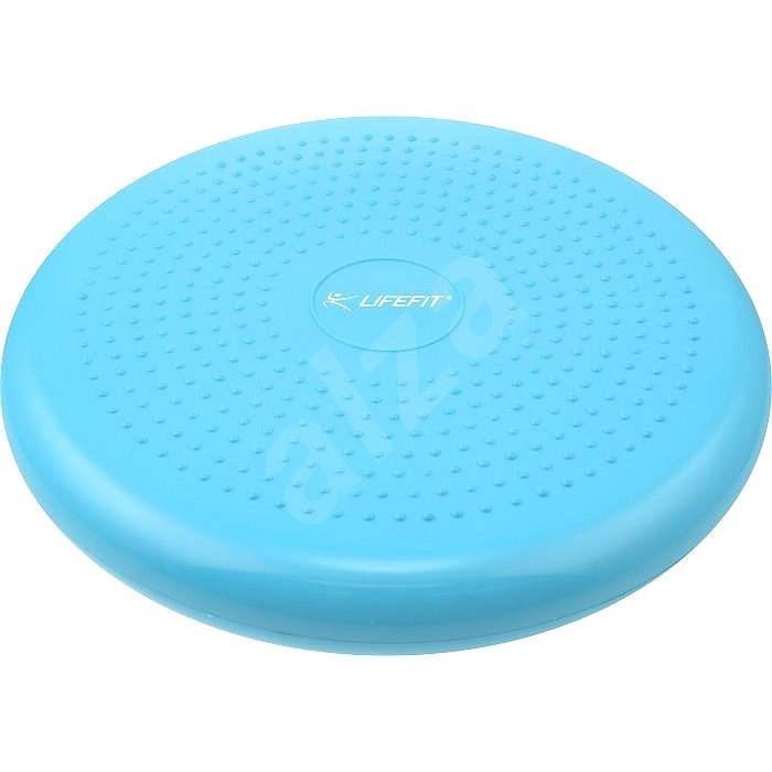 Lifefit Balance cushion 33cm, světle modrý - Balanční polštářek