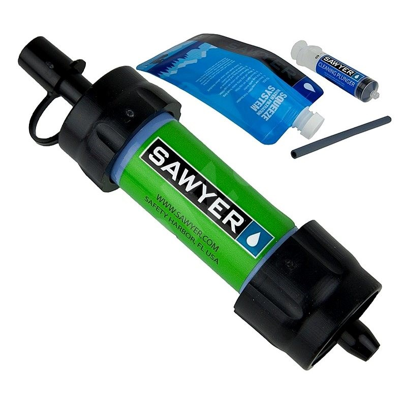 Sawyer Mini Filter - zelený - Cestovní filtr na vodu
