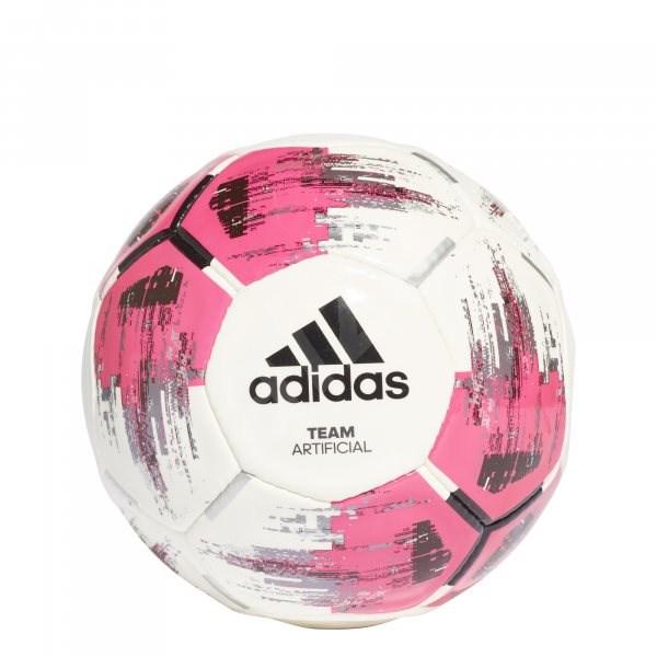 Adidas TEAM Artificial, WHITE/SHOPNK/BLACK/SI, vel. 4 - Fotbalový míč