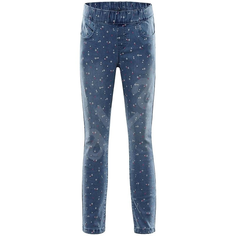 Alpine Pro Alfo modrá vel. 128-134 cm - Kalhoty