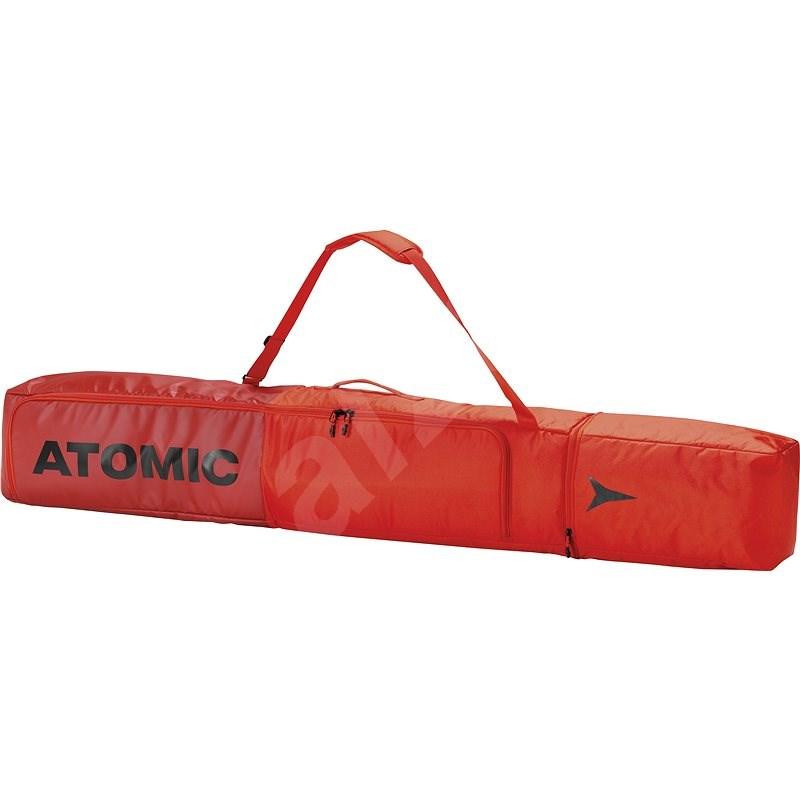 Atomic Double Ski Bag Bright Red/Dark Red vel. 175-205 cm - Vak na lyže