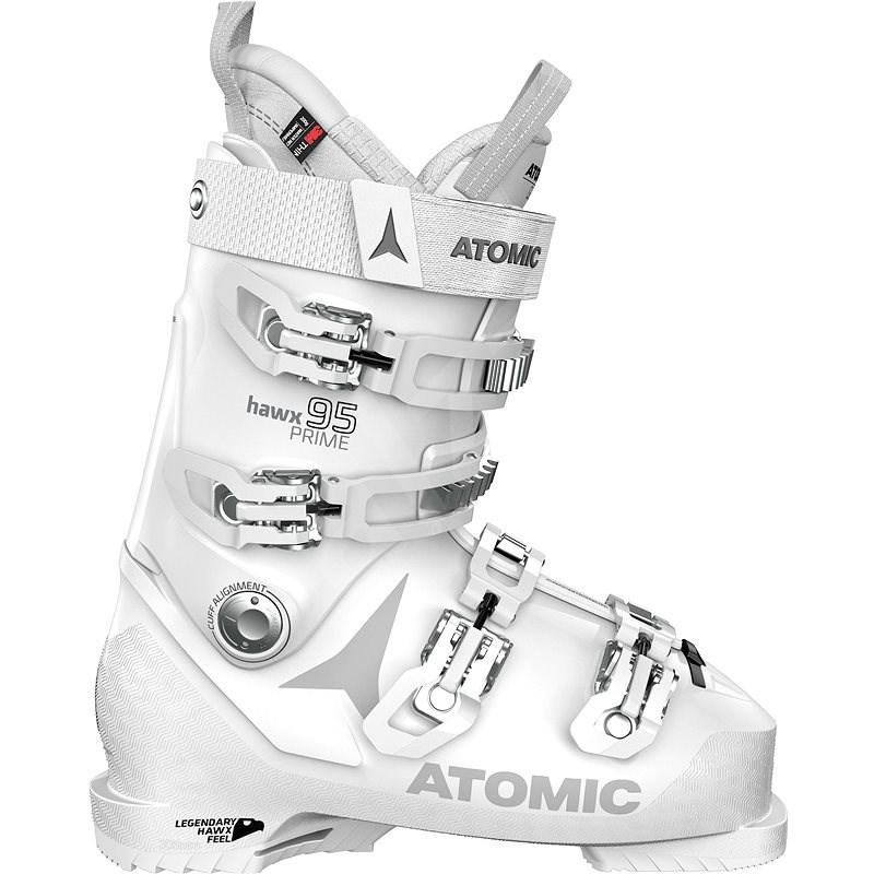 Atomic Hawx Prime 95 W White/Silver vel. 40,5/41 EU / 260/265 mm - Lyžařské boty