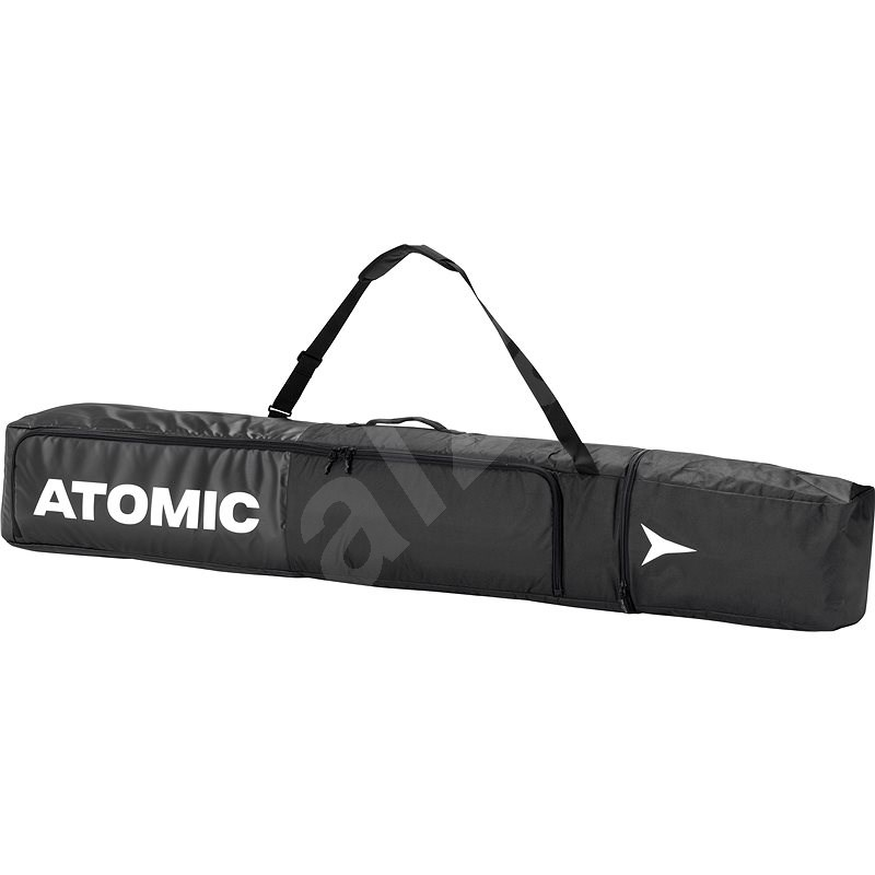 Atomic Double Ski Bag Black/White vel. 175-205 cm - Vak na lyže