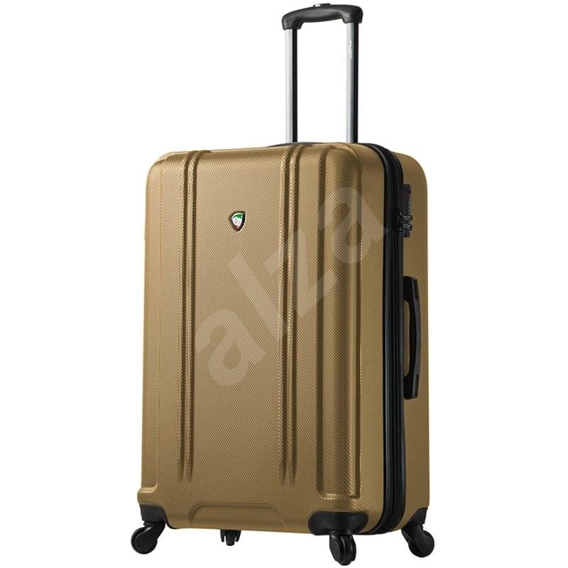 Mia Toro Baggi M1210/3-L - zlatá - Cestovní kufr s TSA zámkem