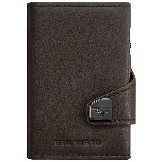 Tru Virtu Click and Slide - Leather Nappa Brown - Wallet