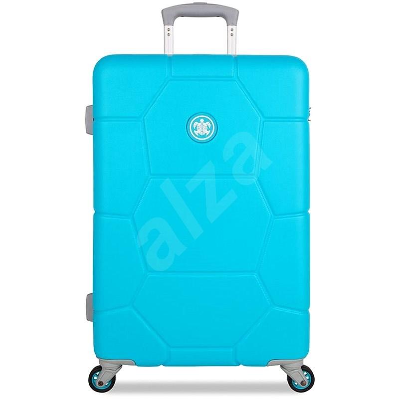 Suitsuit TR-1250/3-M ABS Caretta Peppy Blue - Cestovní kufr