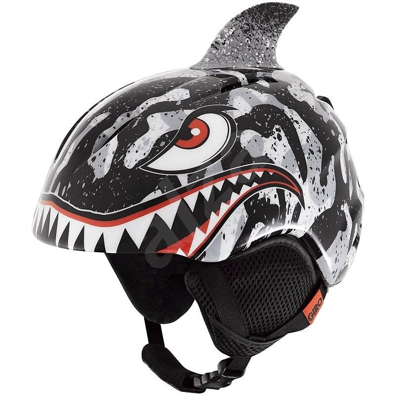 GIRO Launch Plus Black/Grey Tiger vel. Shark vel. XS  - Lyžařská helma