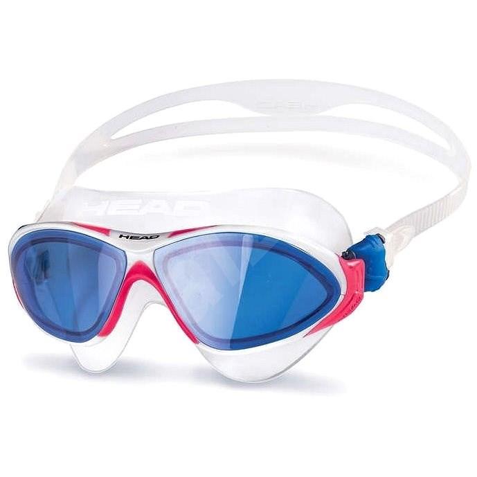 Head Horizon, modrá/červená - Plavecké brýle