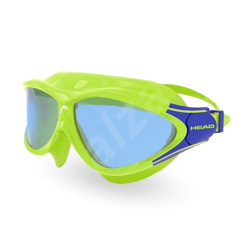 Head Rebel, modrá/zelená - Plavecké brýle