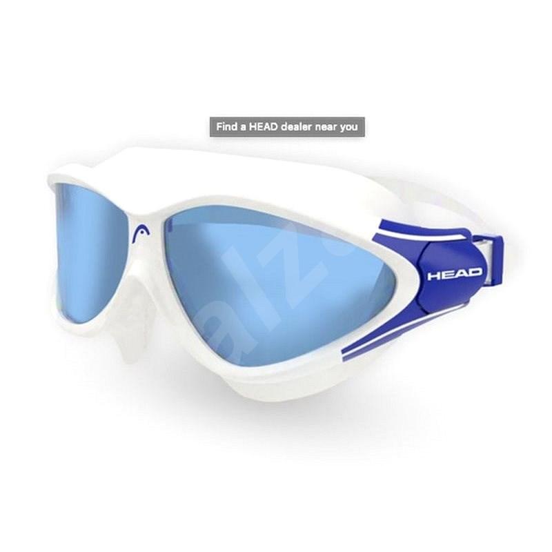 Head Rebel, modrá/transparentní - Plavecké brýle