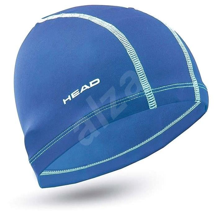 Head Polyester cap, modrá - Plavecká čepice
