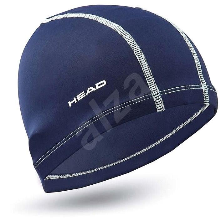 Head Polyester cap, námořní modrá - Plavecká čepice