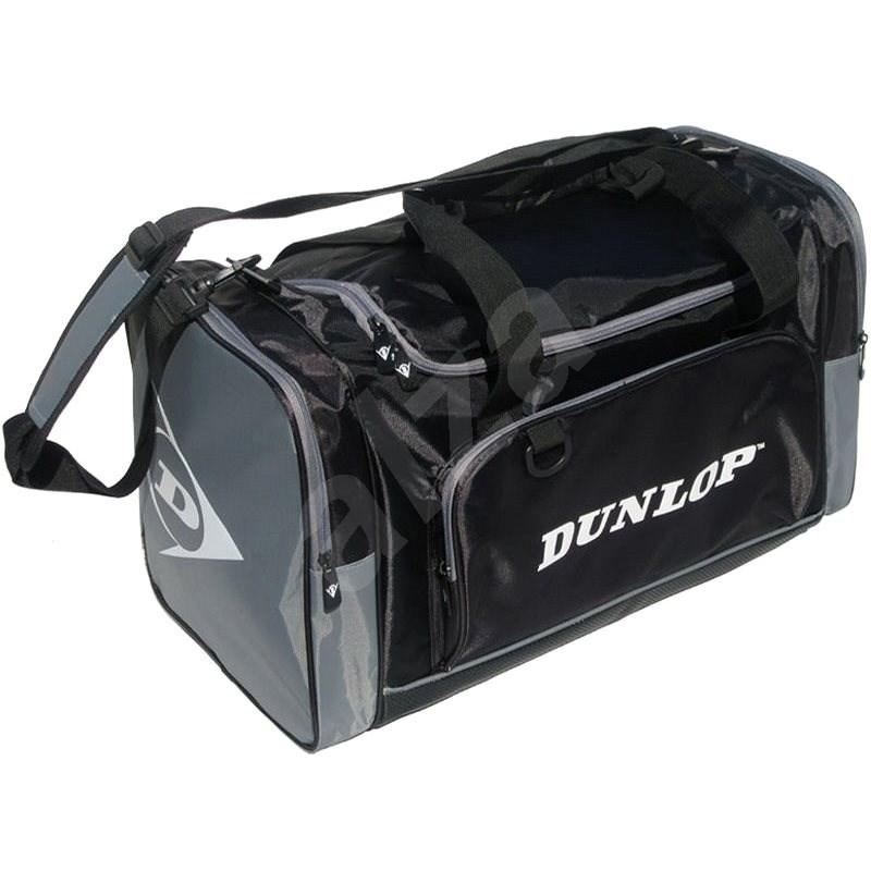 Dunlop CLUB střední černá/šedá - Taška