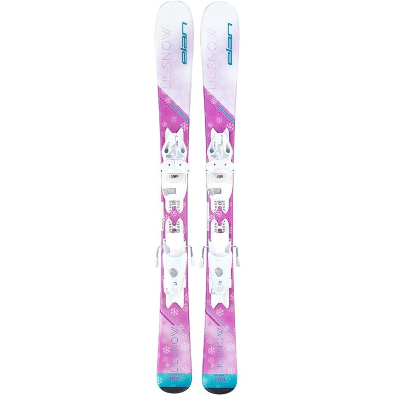 Elan Lil Snow QS + EL 4.5 GW Shift vel. 110 cm - Sjezdové lyže