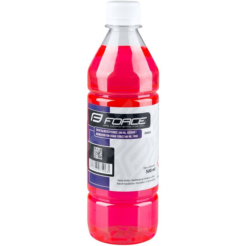 Force na řetězy 500 ml, láhev        růžový - Čistič