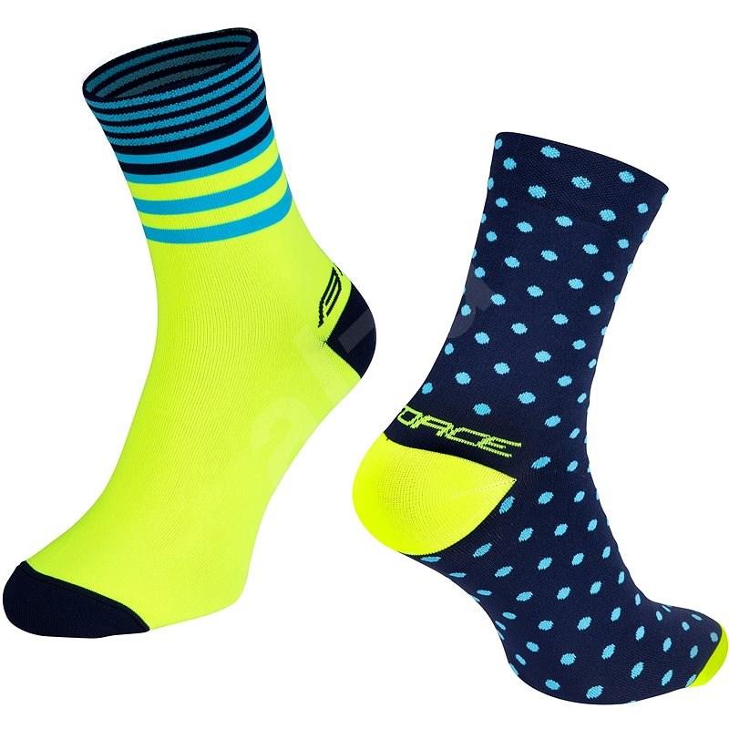 Force SPOT modrá/žlutá 42-46 EU - Ponožky