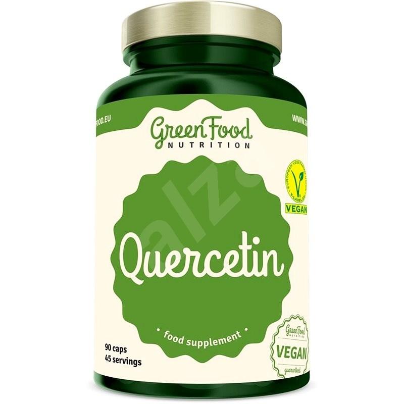 GreenFood Nutrition Quercetin 95% 90 kapslí - Superfood
