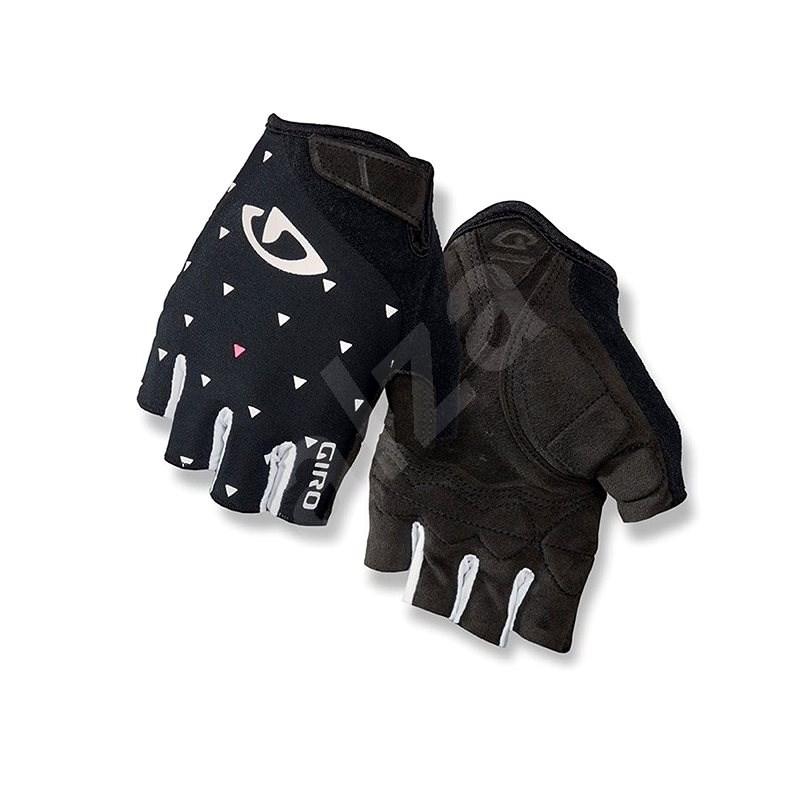 Giro Jag'Ette Black Sharktooth S - Cyklistické rukavice