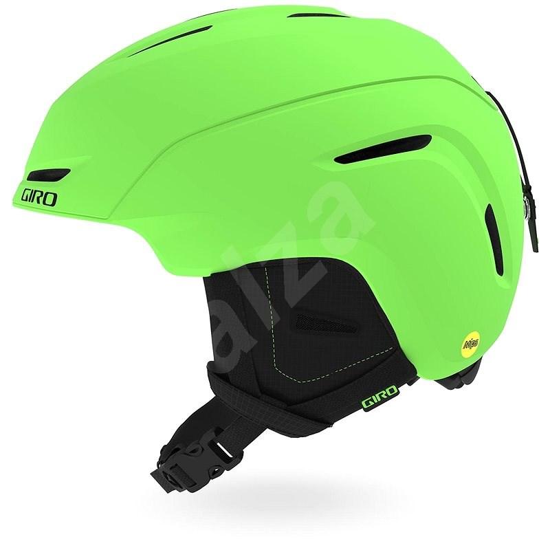 GIRO Neo Jr. MIPS Mat Bright Green M - Lyžařská helma