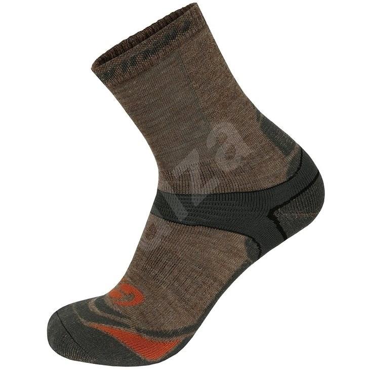 Hannah Walk hnědé/ šedé vel. 44 - 46 - Ponožky