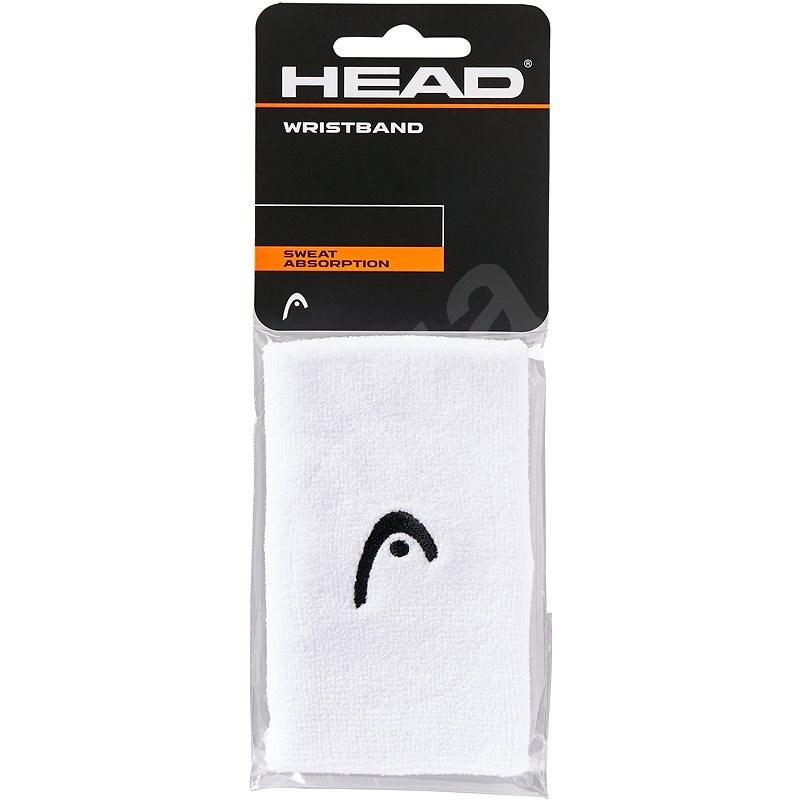 "Head Wristband 5"" bílá - Potítko"