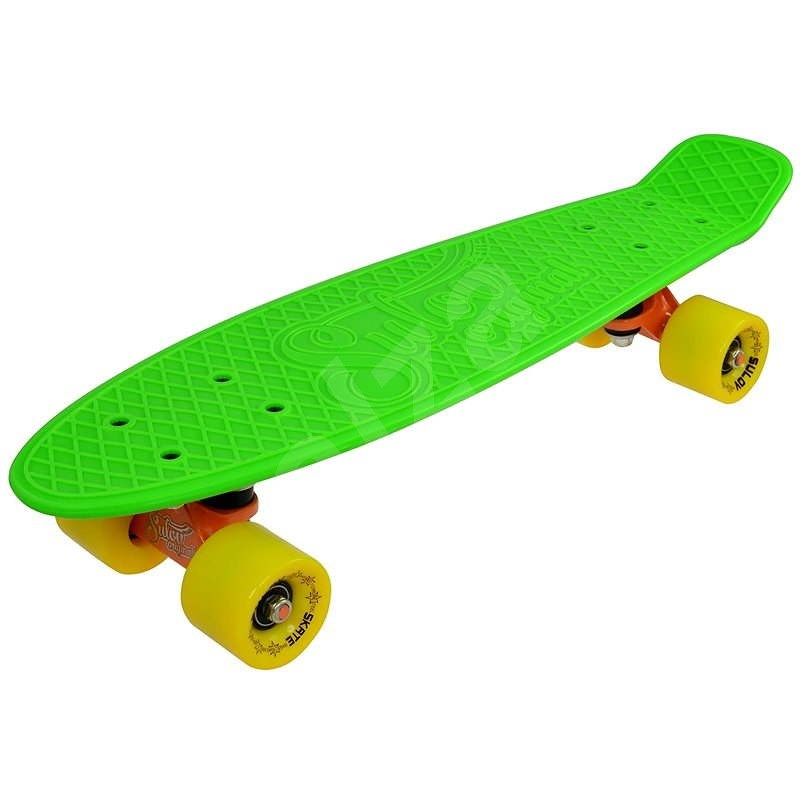 "Sulov Neon Speedway zeleno-žlutý vel. 22"" - Skateboard"