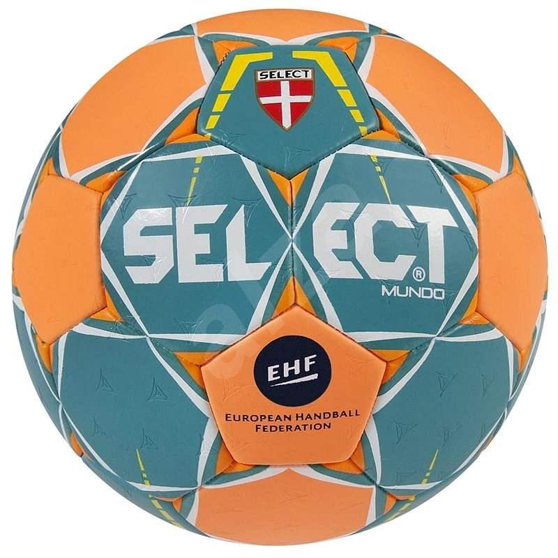 Select Mundo green-orange velikost 2 - Házenkářský míč