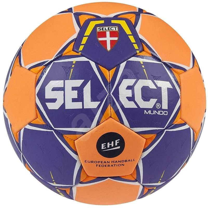 Select Mundo purple-orange velikost 1 - Házenkářský míč