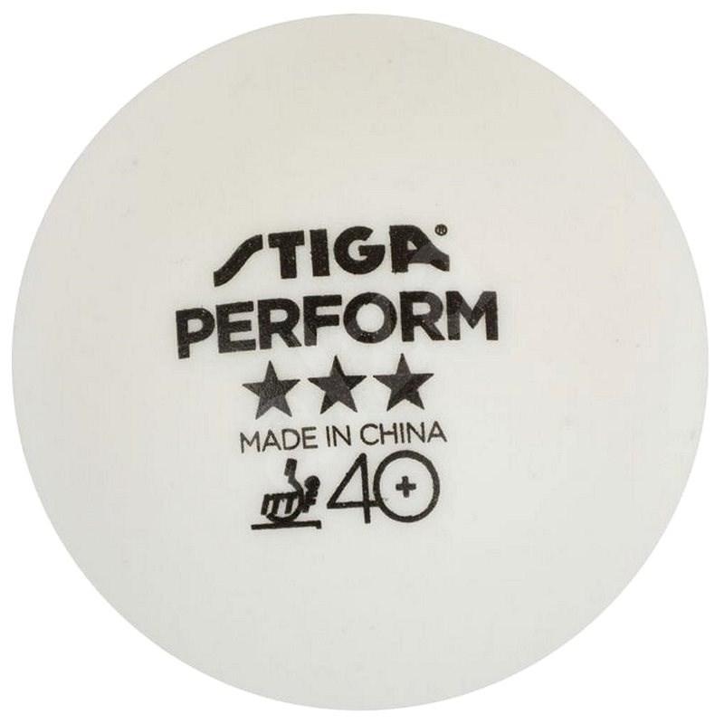 Stiga Perform 40+ *** (3 ks) - Míčky na stolní tenis