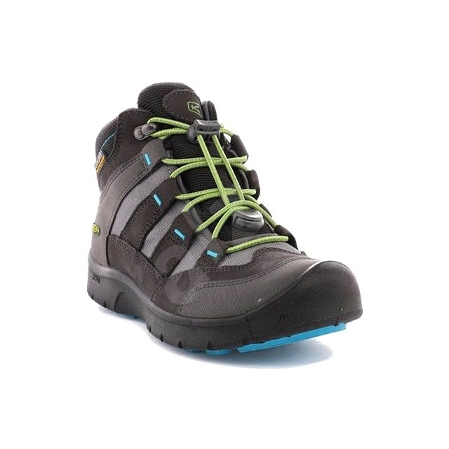 Keen Hikeport Mid WP Jr. magnet/greenery EU 39 / 248 mm - Outdoorové boty