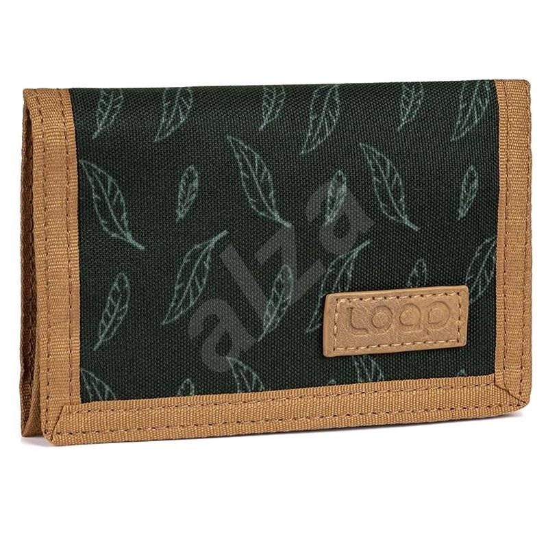 Loap Walleta černá/zelená - Peněženka