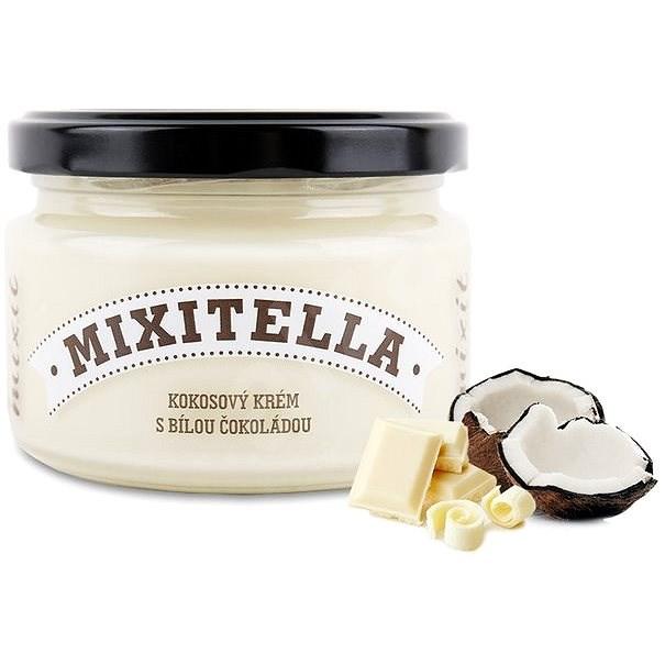 Mixitella Kokos s bílou čokoládou  - Ořechový krém