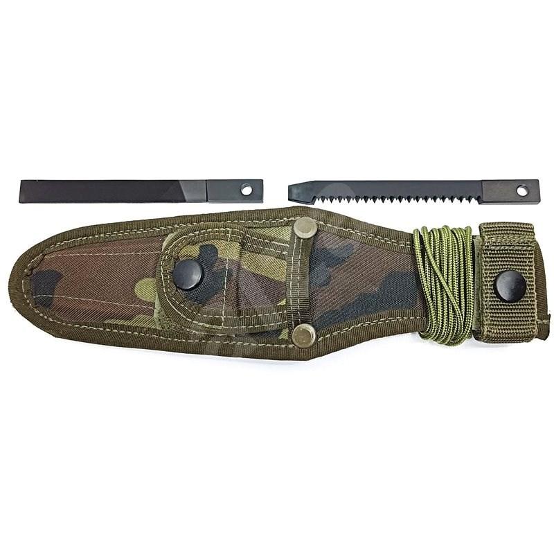 Mikov Uton 362-4 Camouflage MNS včetně příslušenství - Pouzdro na nůž