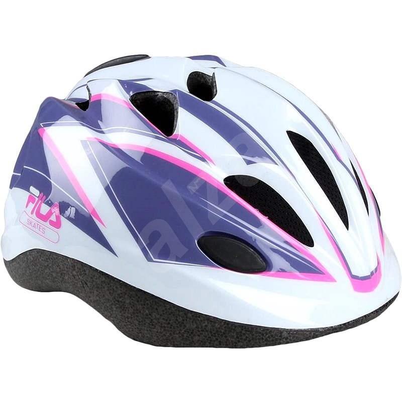 Fila Junior Girl Helmet White XS - Helma na kolo