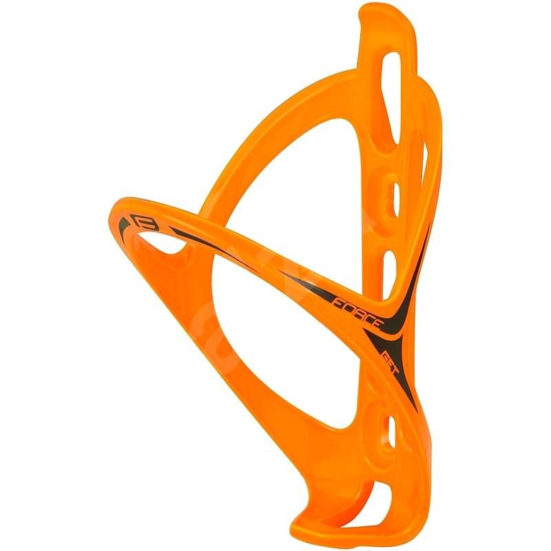 Force Get plastový, oranžový lesklý - Košík na lahev