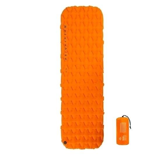 Naturehike nafukovací karimatka 6,5cm FC-10 oranžová - Karimatka